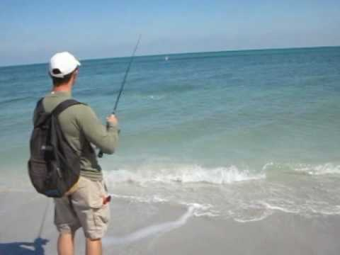 Light Tackle Surf Fishing - Beach Bonefish