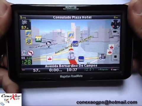 Atualização GPS 2015 Magellan IGO8 com 4 mapas do Brasil e radares atualizados