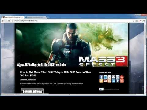 Get Free Mass Effect 3 N7 Valkyrie Rifle DLC Code - Tutorial
