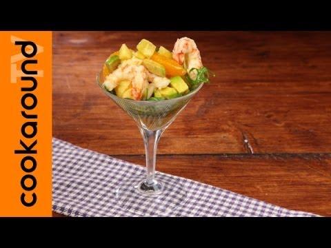 Spiedini Gamberi e Avocado Cocktail di Gamberi Avocado e