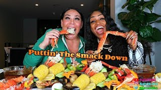 Seafood Boil with Renee Graziano from Mob Wives