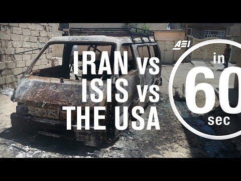 Iran vs. ISIS vs. the USA...in 60 Seconds