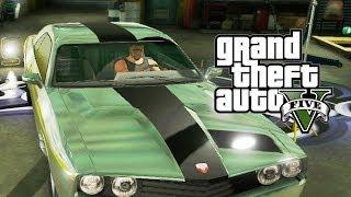 GTA V #48 - Preparação para o Grande Golpe: Van e Dodge Challenger! (GTA 5 em Português PT-BR)