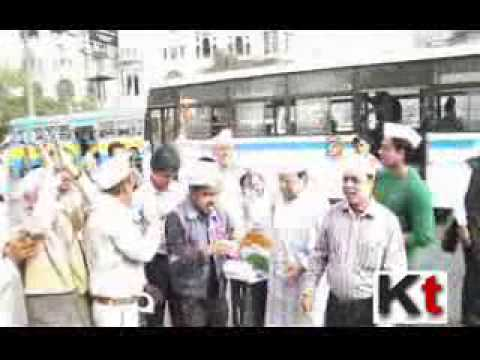 AAP in Kolkata Celebrate their Victory of Delhi Elections