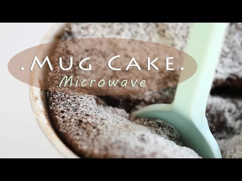 Chocolate Mug Cake - 2-Minute Microwave Recipe