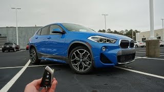2019 BMW X2: Start Up, Test Drive, Walkaround and Review