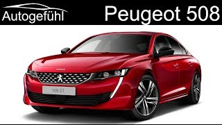 all-new Peugeot 508 REVIEW premiere 2018  - Autogefühl