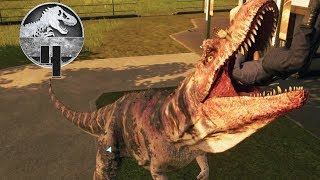 Jurassic World Evolution - Part 4 - DINO BREAKOUT! (ATE A GUEST)