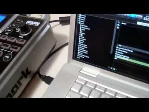 How to use a Numark ndx800 with virtual dj