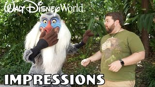 Rafiki Was Shocked!! - Disney World Impressions