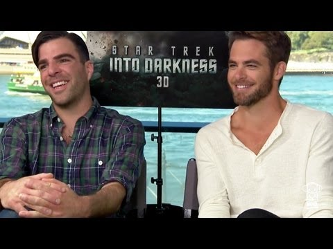 Nathan interviews Star Trek's Chris Pine and Zachary Quinto