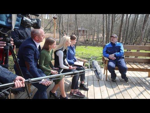 Лукашенко рассказал о личной связи с Трофимовой криницей на малой родине