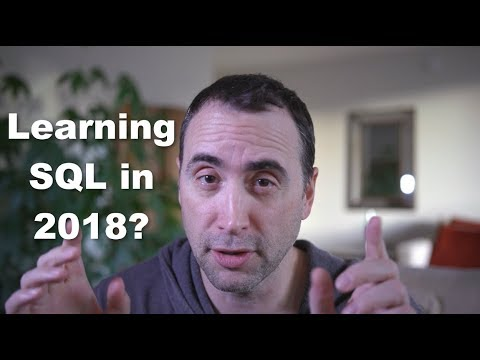 SQL and Databases are MORE IMPORTANT than you think in 2018.