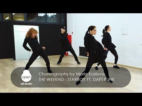 The Weeknd - Starboy ft.  Daft Punk - Сhoreography by Maria Kozlova - Open Art Studio