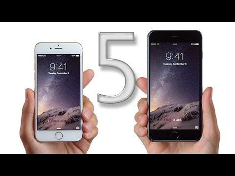 Top 5 Features of iPhone 6 / 6 Plus!
