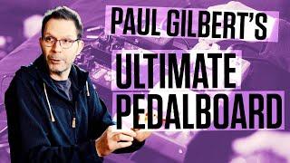 Paul Gilbert - Building a Pedalboard