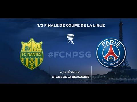 Football Club de Nantes - Paris Saint-Germain [PES 2014] - Coupe de la Ligue (Demi-finale)