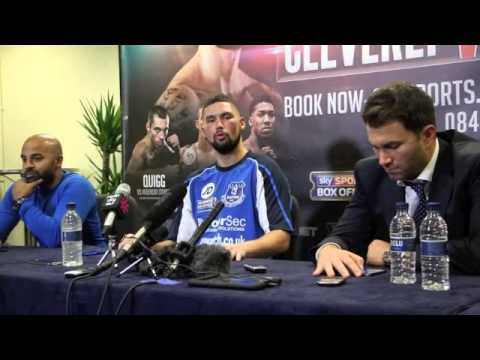 CLEVERLY v BELLEW 2 - POST-FIGHT PRESS CONFERENCE - TONY BELLEW & EDDIE HEARN