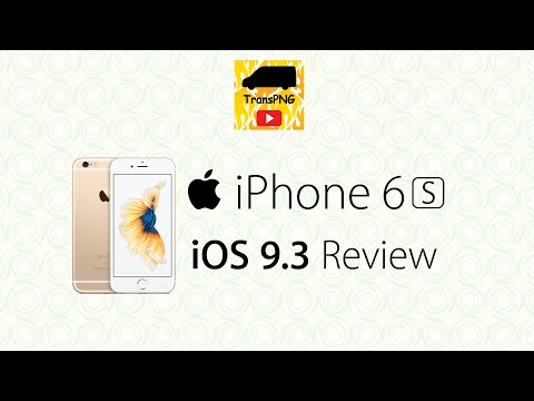 Apple iPhone 6s iOS 9.3 official update review/正式版更新檢視 (Cantonese/廣東話)