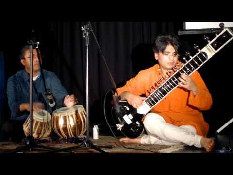Sitar Recital by Puneet Shah - Rabindra Jayanti 2011