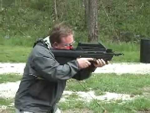 FN F2000 shooting