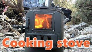 新型ジムニーでdayキャンプ!冬のキャンプはホンマ製作所のクッキングストーブで焚きと調理!