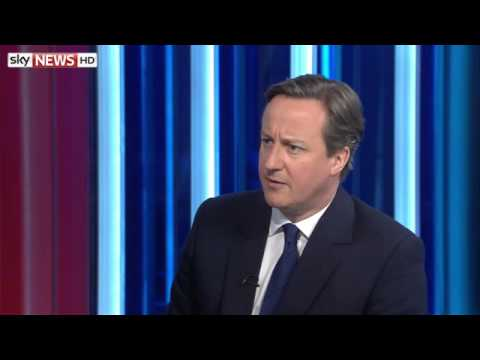 Cameron Defends Campaign In Exclusive Sky News Interview