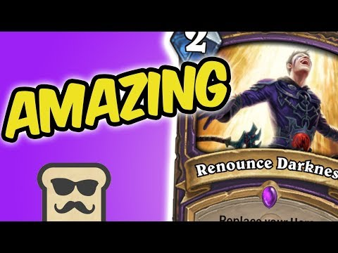 BEATING MY OPPONENT WITH HIS OWN DECK! | RENOUNCE DARKNESS WARLOCK | HEARTHSTONE | DISGUISED TOAST