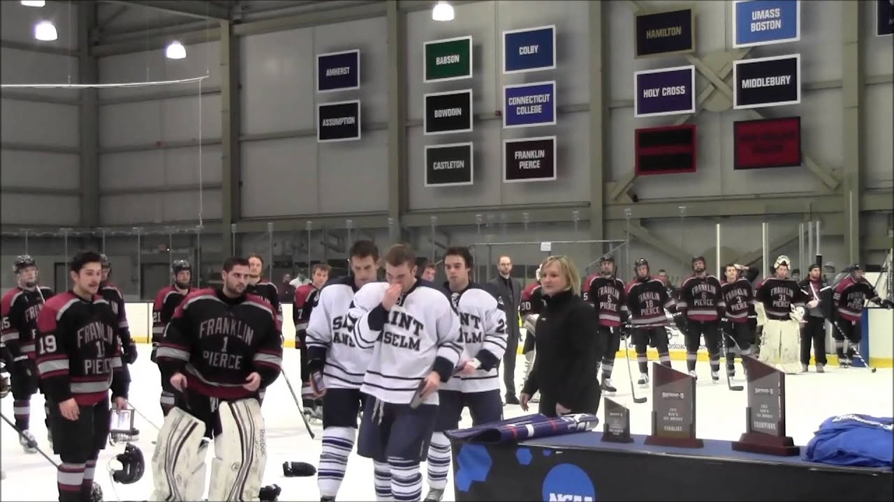 Highlights, Celebration & Reaction: Saint Anselm Men's Ice ...