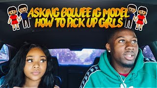 ASKING A INSTAGRAM MODEL HOW TO GET GIRLS... ( IT WORKED)