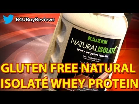 Review:  Whey Protein Isolate for Power Building: Gluten and Lactose Free