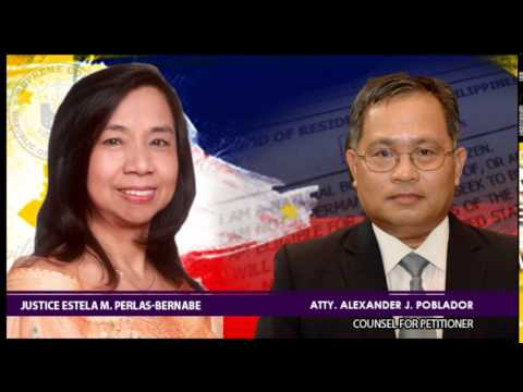 Poe-Llamanzares Vs. Comelec Oral Arguments G.R. No. 221697