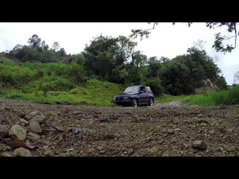 Stuck in a Ditch - Muddy Mountain Roads. DR
