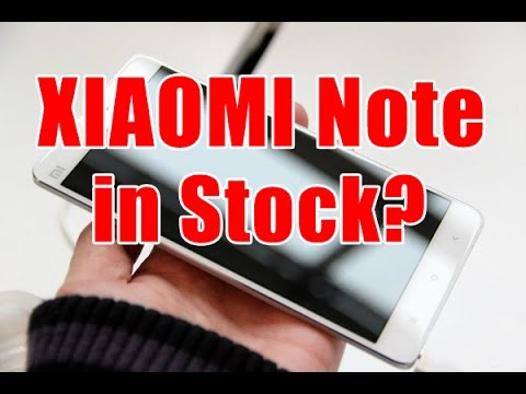In Stock!! Xiaomi Mi Note Hands On Review