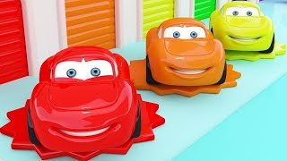 Colors for Kids Learning with The Car, 3D Nursery Rhymes | Learning Videos For Kids