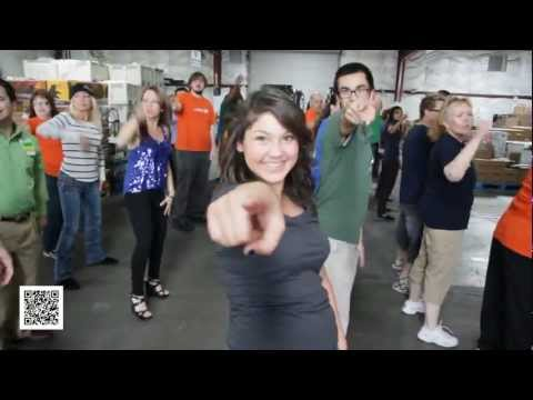 Second Harvest Food Bank Flash Mob