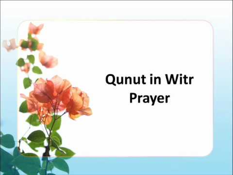 Beautiful Dua : Qunut In Witr Prayer By  Yusuf Kalo Ali video