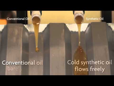 Pennzoil conventional vs synthetic motor oil youtube for Synthetic motor oil test