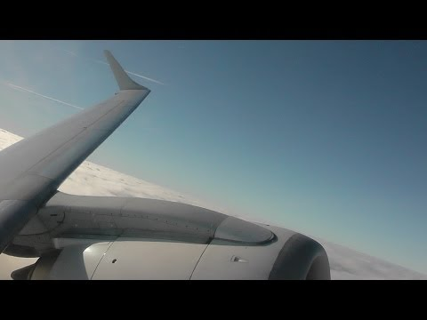 Flybe BE964 London Gatwick (LGW) - Belfast City (BHD) E-195 G-FBEM *FULL FLIGHT* 1/12/13 [1080p HD]
