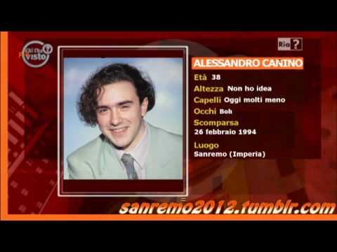 Chi l'ha PIU' visto? Alessandro Canino