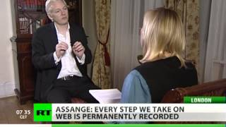 Assange: Entire nations intercepted online, key turned to totalitarian rule (RT Interview)