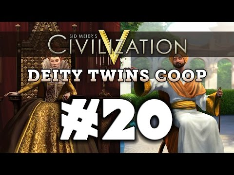Civilization 5: Deity Twins [Arabia / England] #20