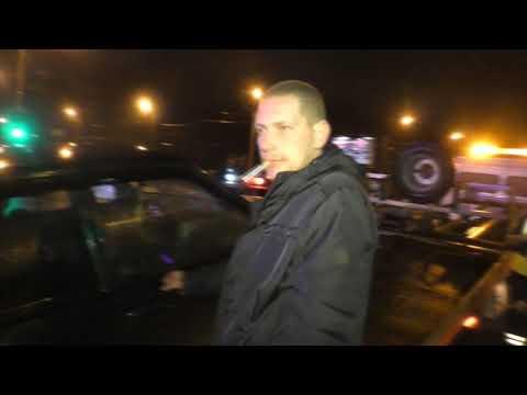 Неудача пьяного на 14-ой, ул. Московская. Место происшествия 20.10.2017