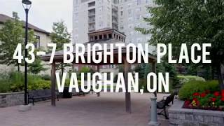 43-7 Brighton Place, Vaughan, ON