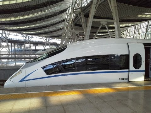 China High Speed Bullet Train Trip - Beijing Hangzhou Shanghai