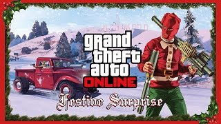 GTA 5 Christmas Fun! Festive Surprise Update! GTA 5 Funny Moments