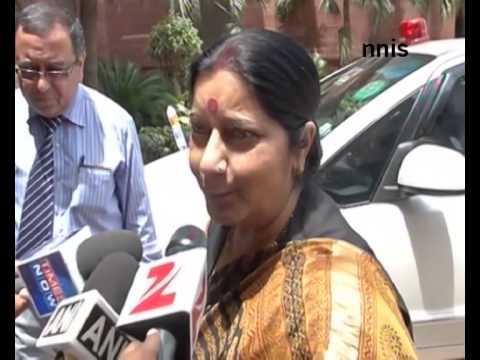 Sushma Swaraj Assures Return Of Indians Stuck In Iraq