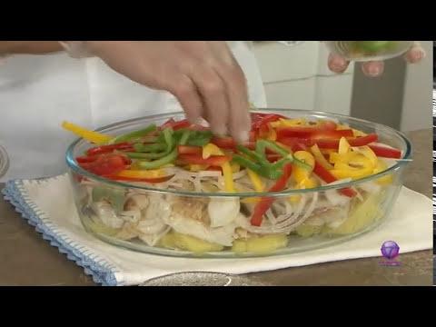 Espaço Culinária - Receita: Bacalhoada rápida  - Bloco 2/3 - 24.05.13 - TV Mundi