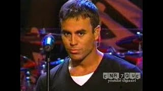 Enrique Iglesias - Be with you (live)