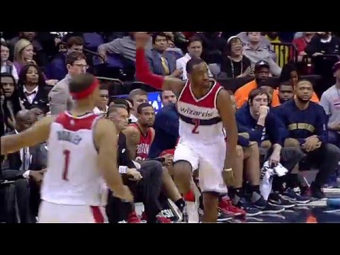 John Wall's Triple Double Propels Wizards Past Pelicans